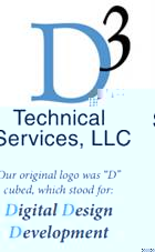 Old D3 Technologies Logo